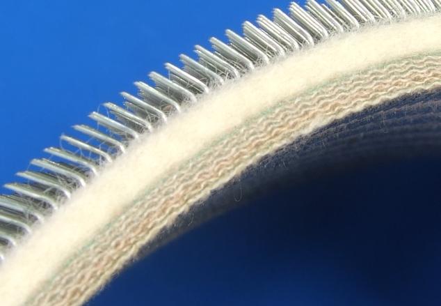 梳毛用弹性针布